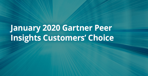 Gartner PeerInsights 2020